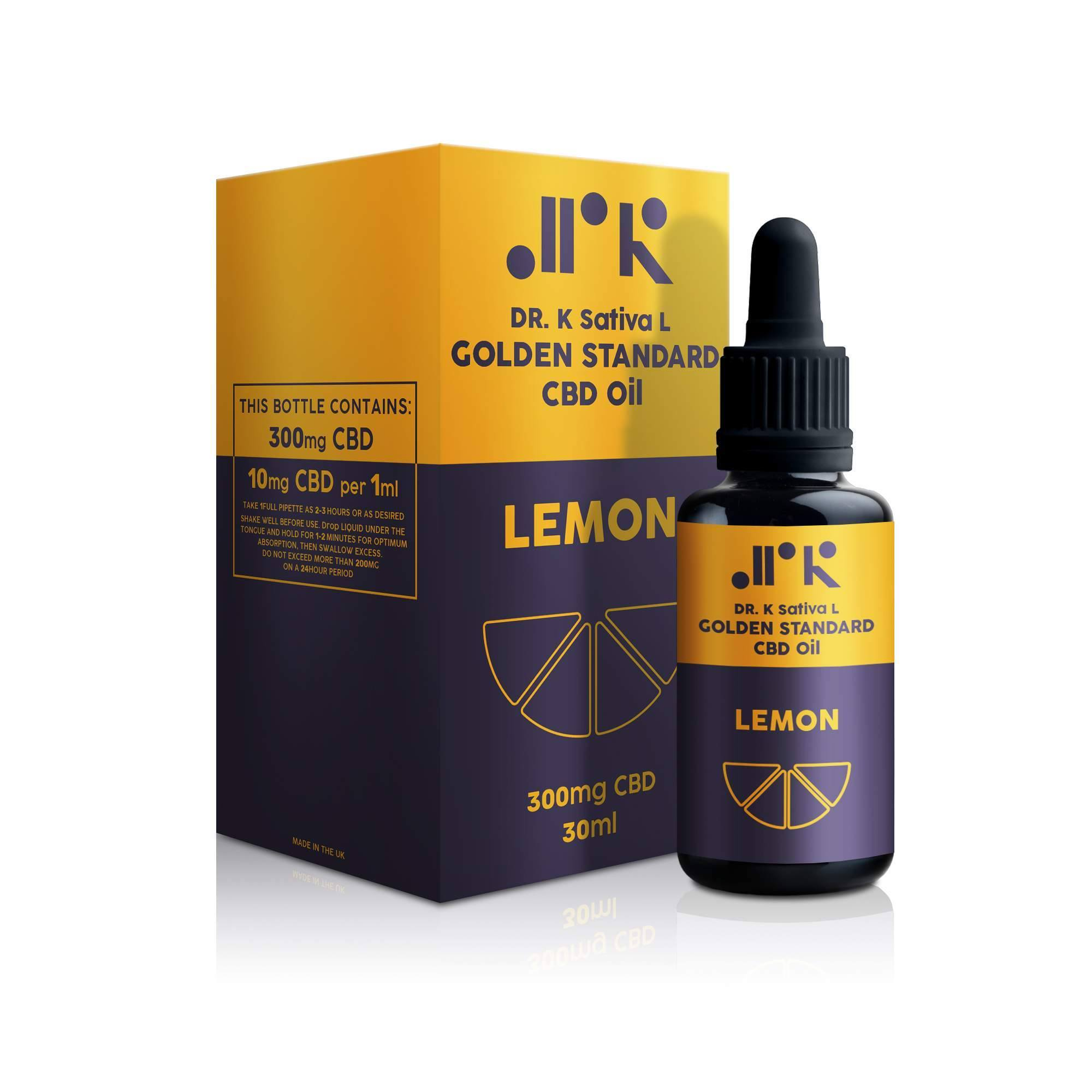 Lemon Golden Standard CBD Oil