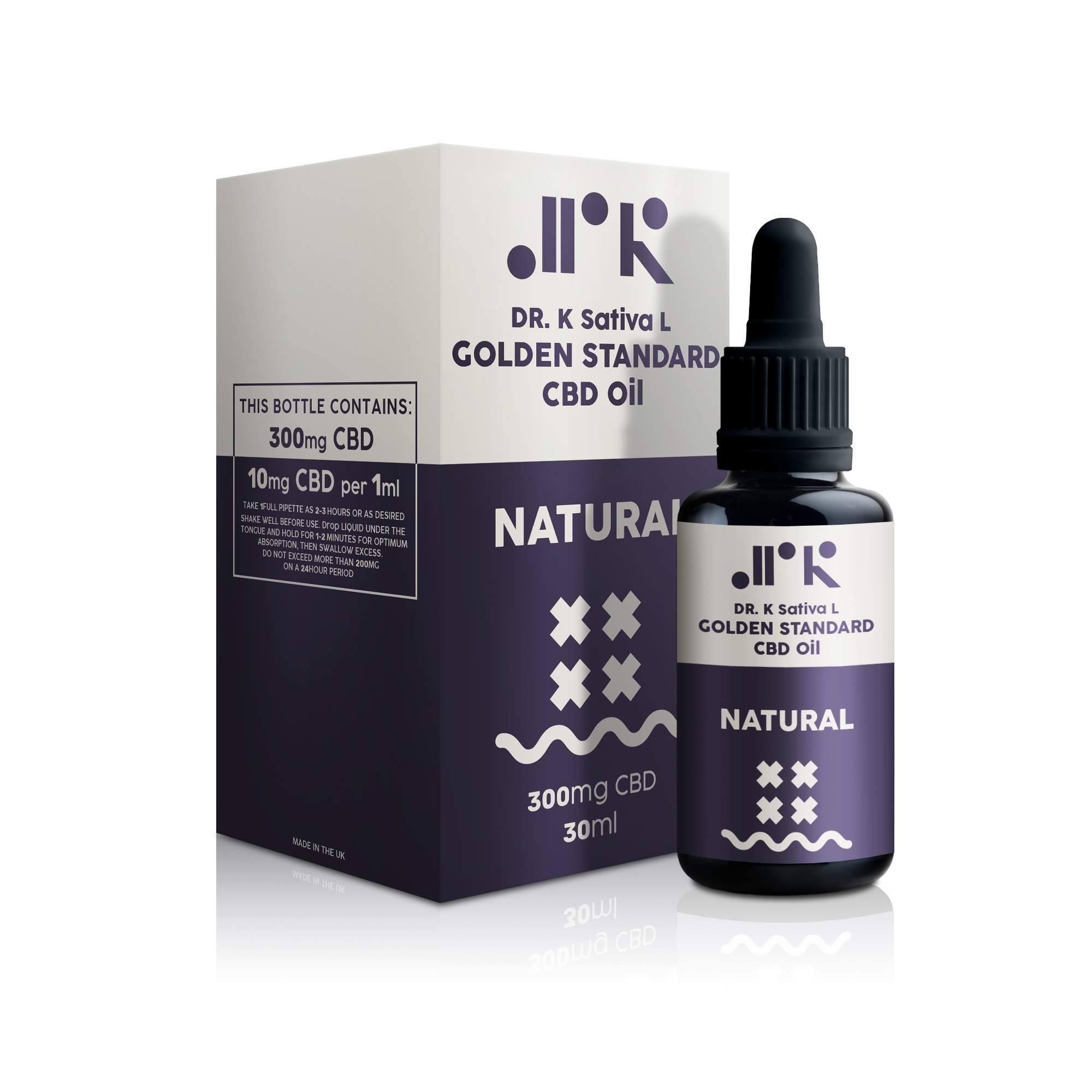 Natural Golden Standard CBD Oil